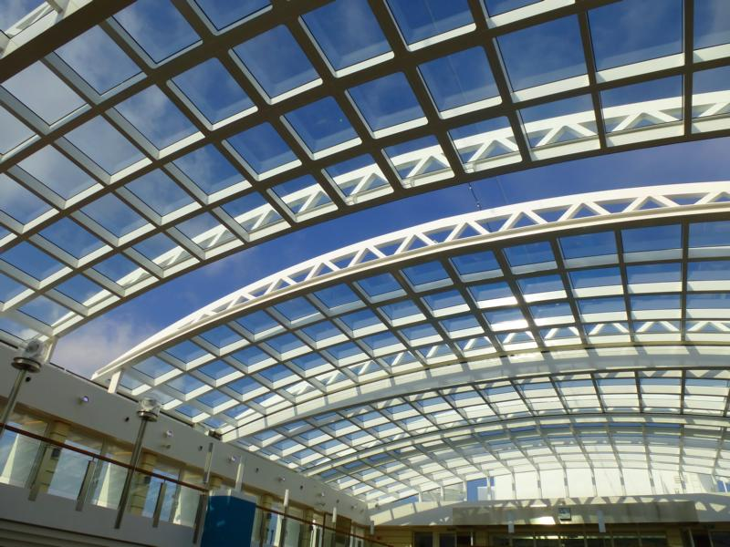 Panoramic Retractable Glass Roof